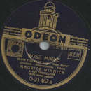 Maurice Winnick and his Orchestra - Rose Marie / Indian...