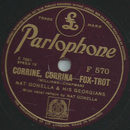 Nat Gonella & his Georgians - Corrine, Corrina /...