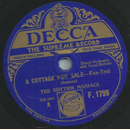The Rhythm Maniacs - A cottage for sale / Figaro