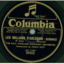 The B.B.C. Wireless Symphony Orchestra - Les Millions...