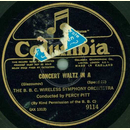 The B.B.C. Wireless Symphony Orchestra - Concert Waltz In...