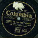 The Denza Dance Band - Aloma / Too many parties and too...