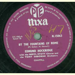 Edmund Hockridge with the Beryl Stott Chorus - By the fountains of rome / Ill need your Love