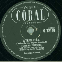 Teresa Brewer - Bo Weevil / A tear fell