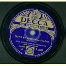 Jack Hylton and his Orchestra - Thats my Home / Sittin in...