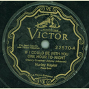 Hurley Kaylor - If I could be with you one hour to-night...