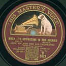 Jack Hylton and his Orchestra - When its springtime in...