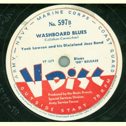 Red Norvo and his Sky Painters / Yank Lawson and his Dixieland Jazz Band - Blue Skies / Washboard Blues