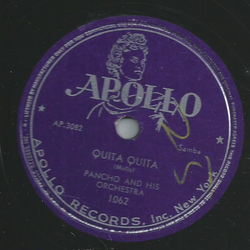 Pancho and his Orchestra - Walter Mitchell Rhumba / Quita Quita