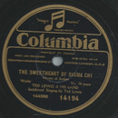 Ted Lewis & his Band - The Sweetheart of sigma chi / Good...