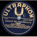 Massed Brass Bands - March of the Herald / With sword and...