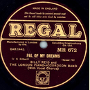 Billy Reid and The London Piano-Accordeon Band - Pal of...