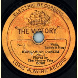 The Music Masters by Jay Whidden / The Victory Trio - Ramona / Hungarian Dances