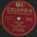 Xavier Cugat and his Orchestra - Temptation / Orchids in...