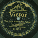 International Novelty Orchestra - Twas in the Month of...