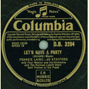 Frankie Laine und Jo Stafford - Lets have a Party /...