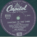 Ray Anthony and his Orchestra - Dancing in the dark /...