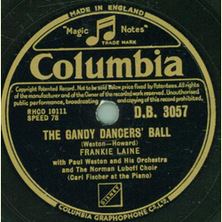 Frankie Laine, The Norman Luboff Choir - When youre in Love / The Gandy Dancers Ball