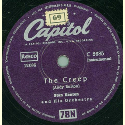 Stan Kenton and his Orchestra - The Creep / Tenderly