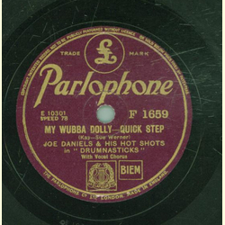 Joe Daniels - War dance for wodden Indians / My Wubba Dolly