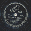 Peter Johnson and Albert Ammons - Foot pedal boogie /...