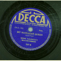 Eddie Valencias Beachcombers - Ipo Hula / My Hawaiian Queen