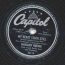 Margaret Whiting - My heart stood still / This cant be love
