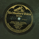 Van Epps Trio - Ching Chong / Wait Till the Cows Come Home
