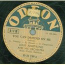 Louis Armstrong - You Can Depend On Me / Keeping Out Of...