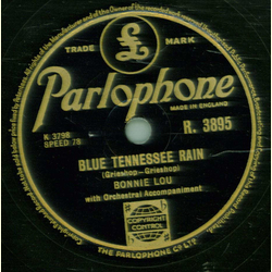 Bonnie Lou - Blue Tennessee Rain / Wait for me Darling