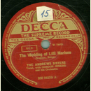 The Andrews Sisters - The Wedding of Lilli Marlene / The...