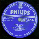 Guy Mitchell - Too Late / Let Us Be Sweethearts Over Again
