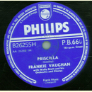 Frankie Vaughan - Priscilla / The Garden Of Eden