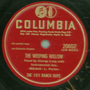 The 101 Ranch Boys - The Weeping Willow / You Stole My Heart