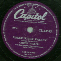 Chuck Miller - No Baby Like You / Rogue River Valley