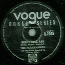 The Modernaires - Bugle Call Rag / New Juke Box Saturday...