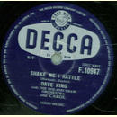 Dave King - Shake Me I Rattle / Chances Are
