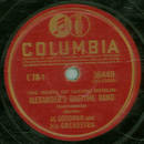 Al Goodman and his  Orchestra -  Alexanders Ragtime Band...