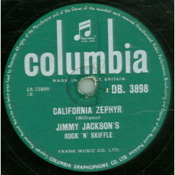 Jimmy Jackson - California Zephyr / I Shall Not Be Moved