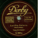 Tanz-Orchester - Lucky Hours / Shanghai