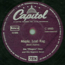 Joe Fingers Carr - Maple Leaf Rag / Istanbul