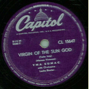 YMA Sumac - Virgin Of The Sun God / Lure Of The Unknown Love