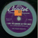 The Four Knights - I Love The Sunshine Of Your Smile /...