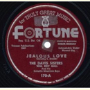 The Davis Sisters - Jealous Love / Going Down The Road...