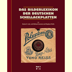 Das Bilderlexikon der deutschen Schellack-Schallplatten (5 Bände) - The German Record Label Book