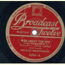 The Blue Mountainers - Mad About The Boy / The Younger...
