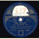 Winifred Atwell and her Piano - Body and Soul / Dinah Boogie