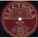 Frank Crumit - Billy Boy / Thanks For The Buggy Ride