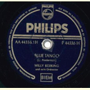 Willy Berking u. s. Orchester - Blue Tango / Tango Bolero