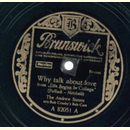 The Andrew Sisters - Why Talk About Love / Begin The Beguine